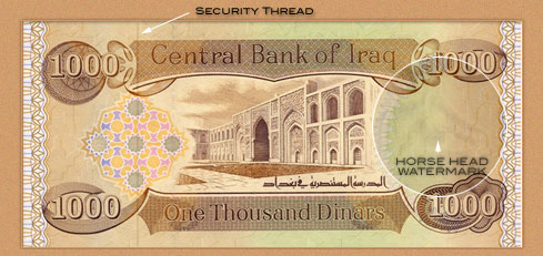 Dinar Security Thread